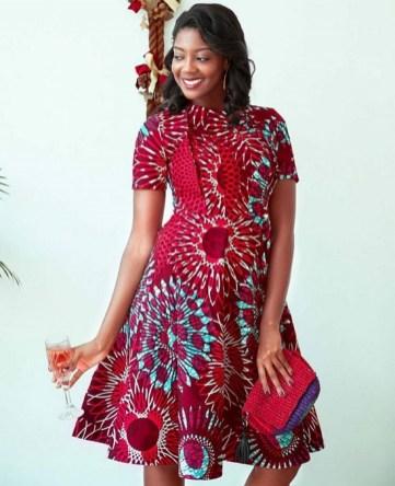 african prints short dresses 41