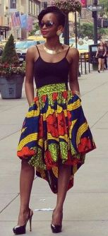 african prints short dresses 45