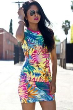 hawaiian prints dresses ideas 15
