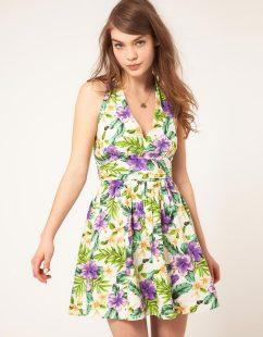 hawaiian prints dresses ideas 2