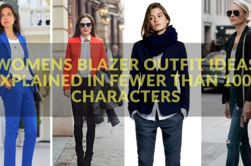 womens blazer outfit ideas 1