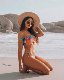 100 Ideas Outfit the Bikinis Beach 44