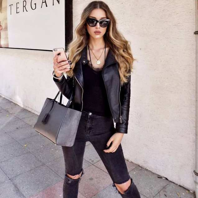 90 Style A Leather Jacket Ideas 31