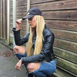 90 Style A Leather Jacket Ideas 54