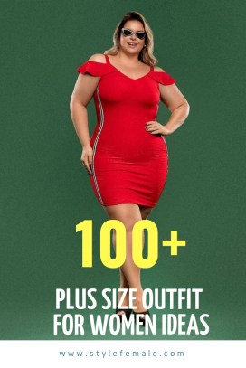 Big Size Outfit For Women Ideas