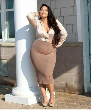 Big Size Outfit Ideas 26