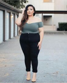 Big Size Outfit Ideas 31