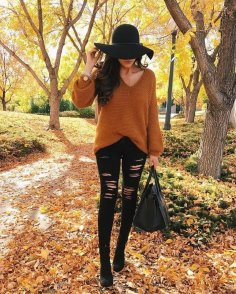 FALL STREET STYLE OUTFITS TO INSPIRE 62
