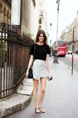 40 Asymmetric Skirts Street Styles Ideas 15