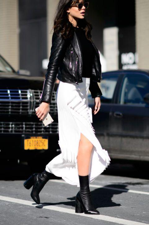 40 Asymmetric Skirts Street Styles Ideas 24