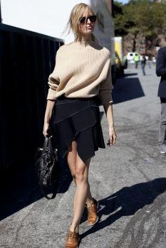 40 Asymmetric Skirts Street Styles Ideas 25