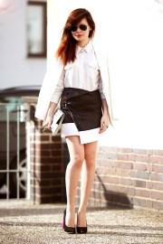40 Asymmetric Skirts Street Styles Ideas 27