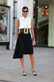40 Asymmetric Skirts Street Styles Ideas 28