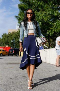 40 Asymmetric Skirts Street Styles Ideas 31