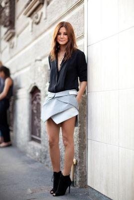 40 Asymmetric Skirts Street Styles Ideas 33