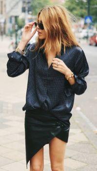 40 Asymmetric Skirts Street Styles Ideas 38