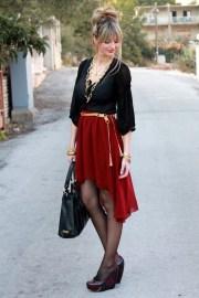 40 Asymmetric Skirts Street Styles Ideas 5