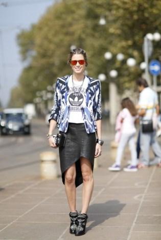 40 Asymmetric Skirts Street Styles Ideas 6