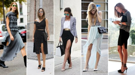 40 Asymmetric Skirts Street Styles Ideas