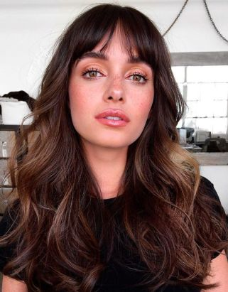 40 Bangs Hairstyles You Need to Try Ideas 20