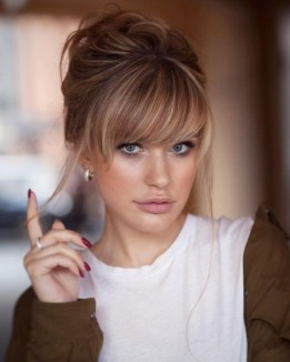 40 Bangs Hairstyles You Need to Try Ideas 24
