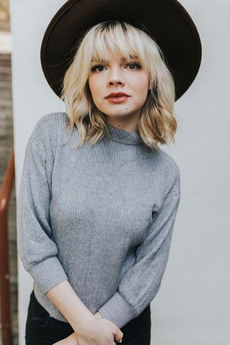 40 Bangs Hairstyles You Need to Try Ideas 5