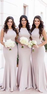 40 Bridesmaid with Mermaid Dresses to Copy Ideas 17