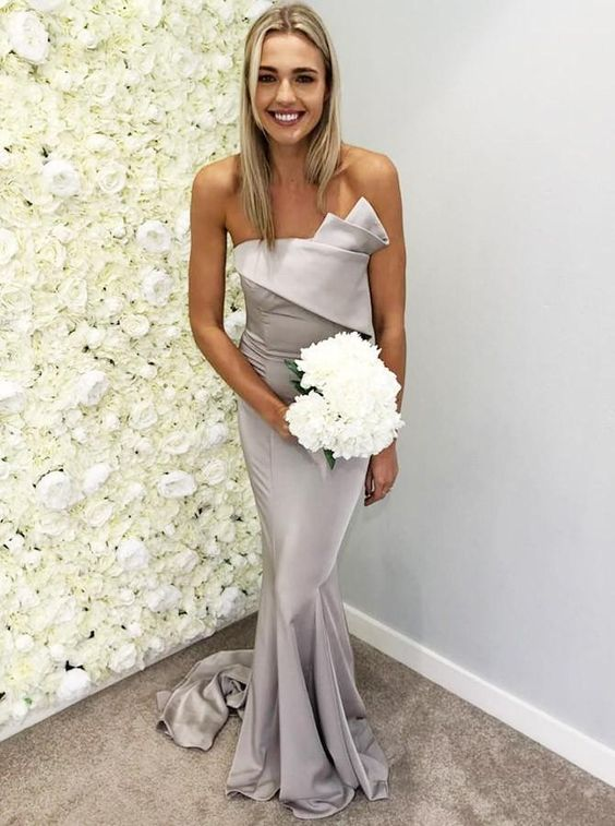 40 Bridesmaid with Mermaid Dresses to Copy Ideas 42
