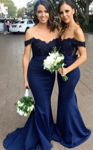 40 Bridesmaid with Mermaid Dresses to Copy Ideas 8
