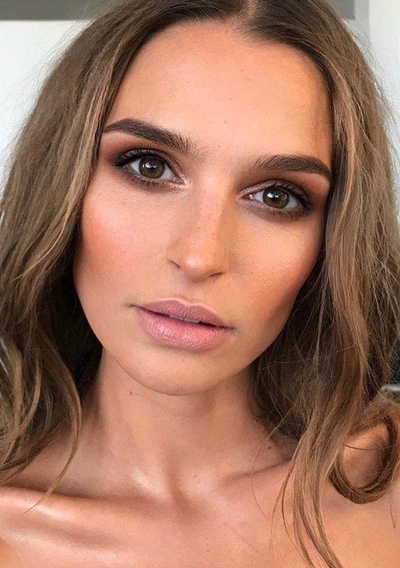 40 Brown Eyes Simple Makeup Ideas 11