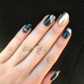 40 Chic Green Nail Art Ideas 26