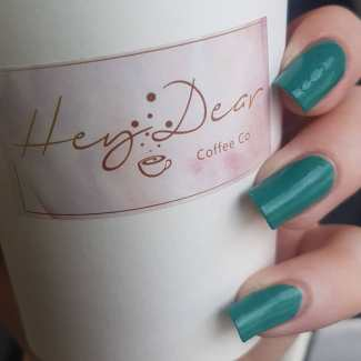 40 Chic Green Nail Art Ideas 36