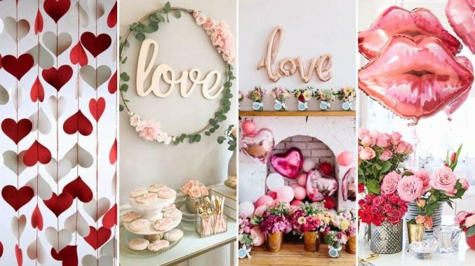 40 Chic Valentine Party Decoration Ideas
