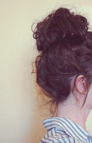 40 High Messy Bun Hairstyles Ideas 18