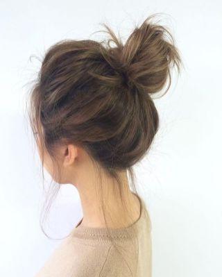 40 High Messy Bun Hairstyles Ideas 2