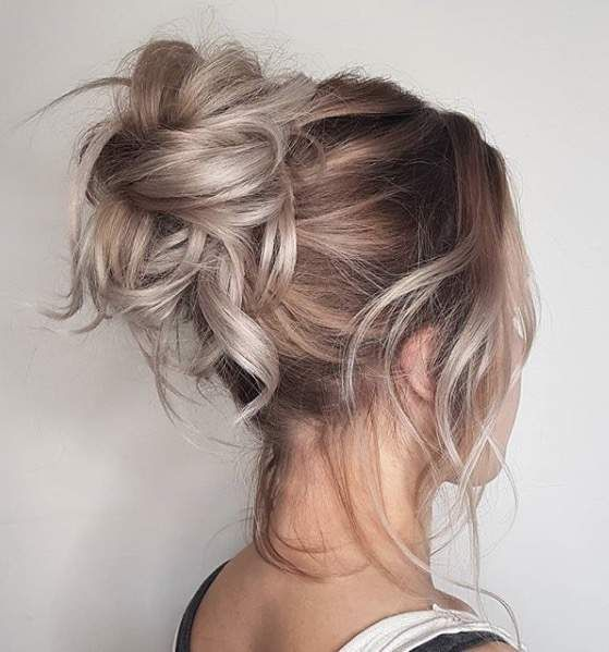 40 High Messy Bun Hairstyles Ideas 21 Style Female