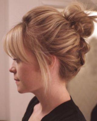 40 High Messy Bun Hairstyles Ideas 30