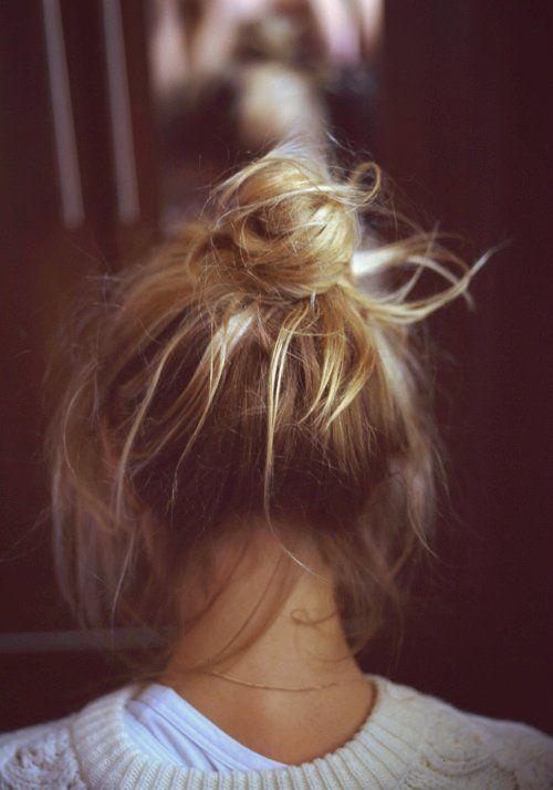 40 High Messy Bun Hairstyles Ideas 40