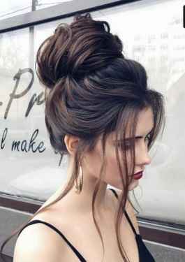 40 High Messy Bun Hairstyles Ideas 9