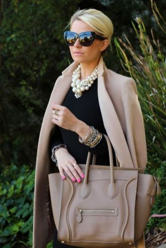 40 How to Wear a Pearl Necklace Ideas 7