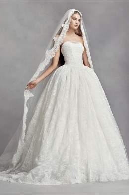 40 Long Viels Wedding Dresses Ideas 40