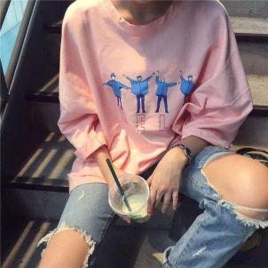 40 Pink T Shirt Street Styles Ideas 12