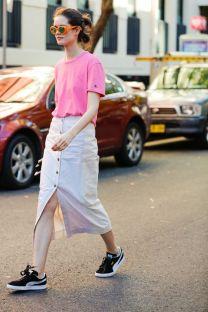 40 Pink T Shirt Street Styles Ideas 2