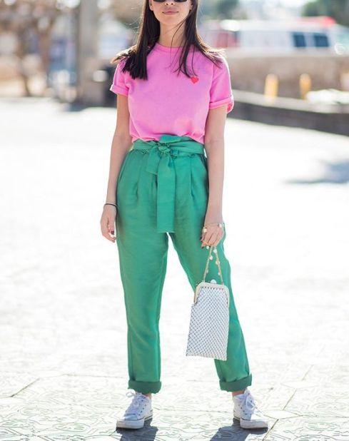 40 Pink T Shirt Street Styles Ideas 20