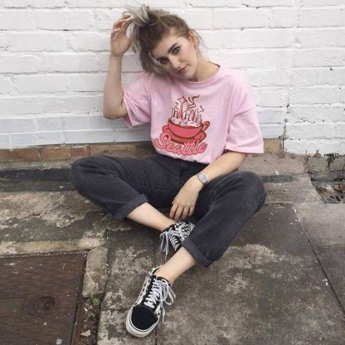 40 Pink T Shirt Street Styles Ideas 8