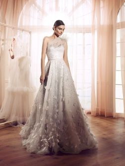 40 Shimmering Bridal Dresses Ideas 17