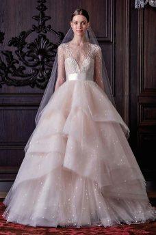 40 Shimmering Bridal Dresses Ideas 41