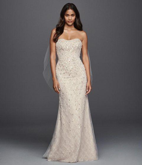 40 Shimmering Bridal Dresses Ideas 47