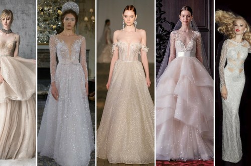 40 Shimmering Bridal Dresses Ideas