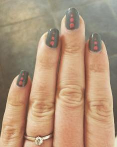 40 Simple Grey Nail Art Ideas 12 2